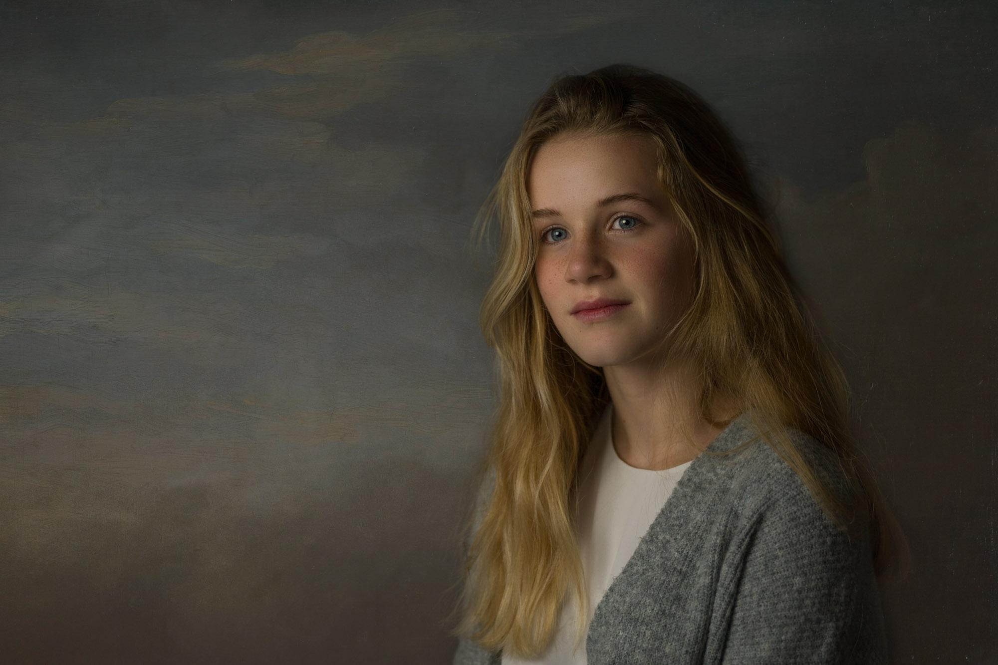 Portretfotograaf in Amersfoort. Fineartportret door Mayra Fotografie. Fotostudio regio Amersfoort.